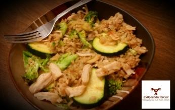 Chicken, Broccoli, and Zucchini Stir Fry